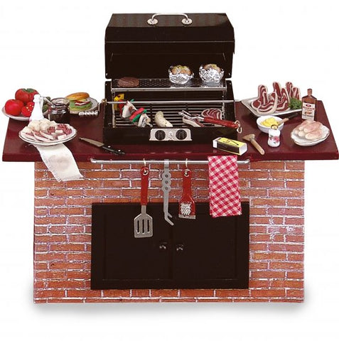 Barbecue Grill With Accessories,  Brick style by Reutter