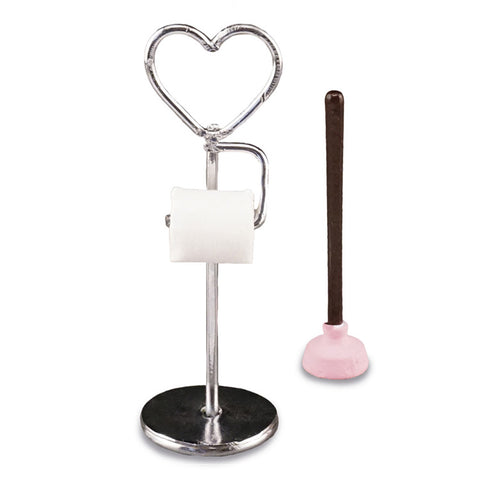 Heart Toilet Paper Stand