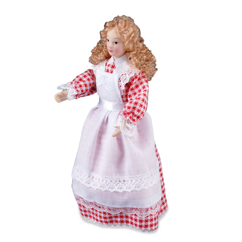 Porcelain Cook Doll