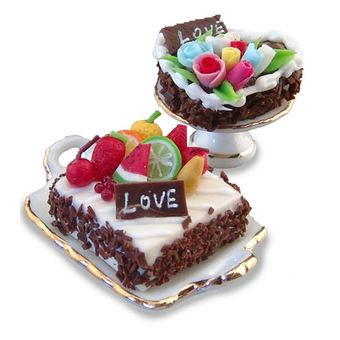 Valentine Cake Set by Reutter