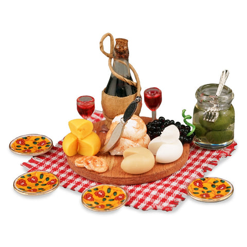 Deluxe Wine and Cheese Picnic by Reutter Porzellan