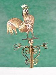 Weathervane, Rooster Design