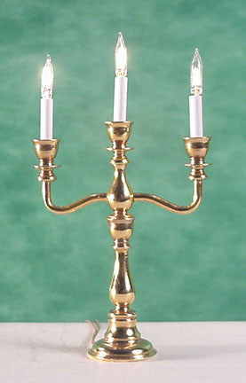 3 Light Georgian Candelabra, Electric
