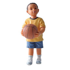 Michael, Resin Doll Figure with Basketball