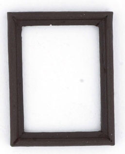 Small walnut frames, 4pk