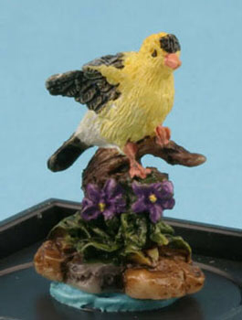 American Goldfinch figurine by Jeannetta Kendall