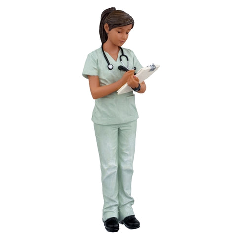 Cathy, Health Care Professional, Resin Figure
