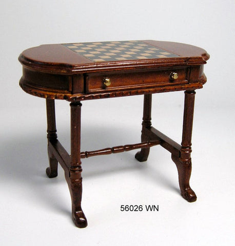 Regency Oval Game Table