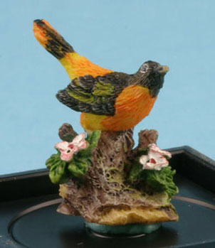 Baltimore Oriole figurine by Jeannetta Kendall