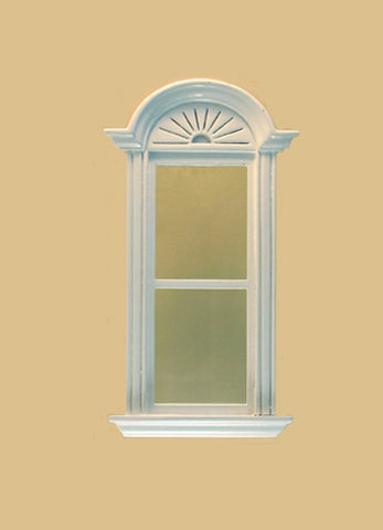 Newport Plain Single Window, White ON SALE