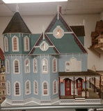 1:12 Scale Leon Gothic Victorian Mansion Kit