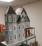 1:12 Scale Leon Gothic Victorian Mansion Kit (New Version)
