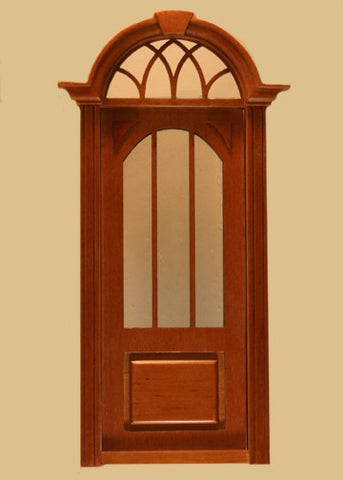 Cambridge Door New Walnut Finish & Cambridge Door New Walnut Finish \u2013 Dollhouse Junction Pezcame.Com
