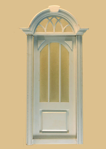Cambridge Door, White Finish