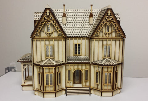 1:48 Scale Kristiana Dollhouse Kit with Shingles