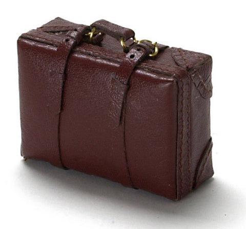 Leather Suitcase, Small,  Brown
