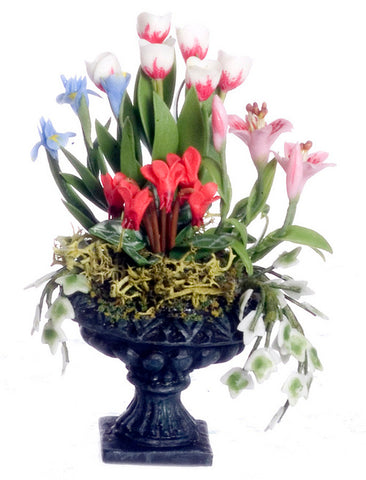 Urn with Lillies