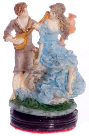 Figurine with Guitar Player