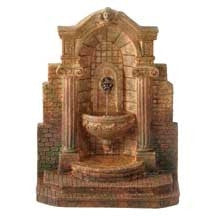 Palermo Niche with Fountain, Aged