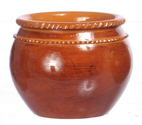 Planter, Large Brown