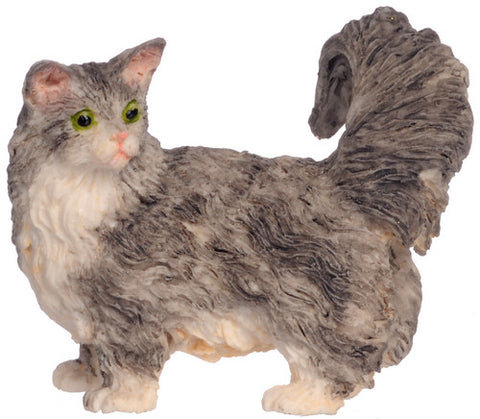 Calico Cat, Grey
