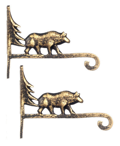 Copy of Wall Bracket Set, Bear Theme