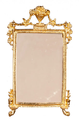 Mirror with Gold Frame, Detailed