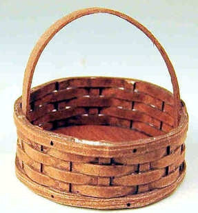 Round Woven Basket by Chandronnait