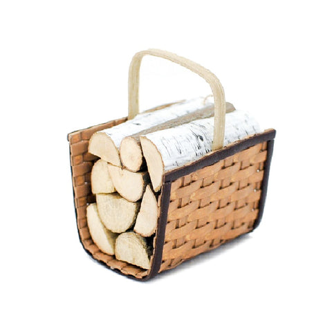 Firewood Carrier With Wood by Chandronnait