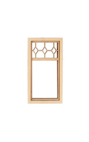 Prairie Diamond Top Window, Medium Sized