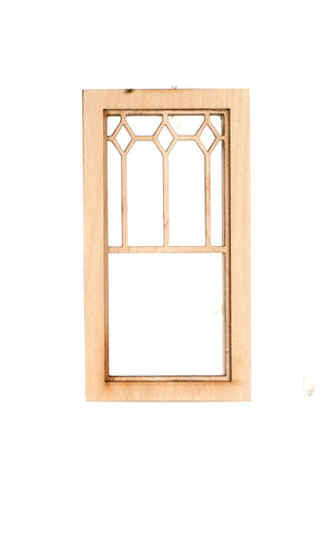 Long Diamond Top Window