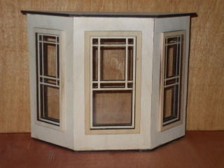 Bay Window with Prairie Style Windows