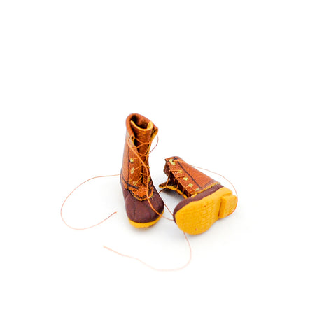 miniature hunting boots
