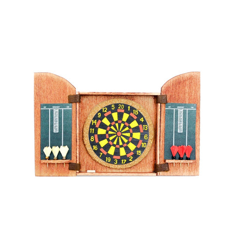 miniature dart board