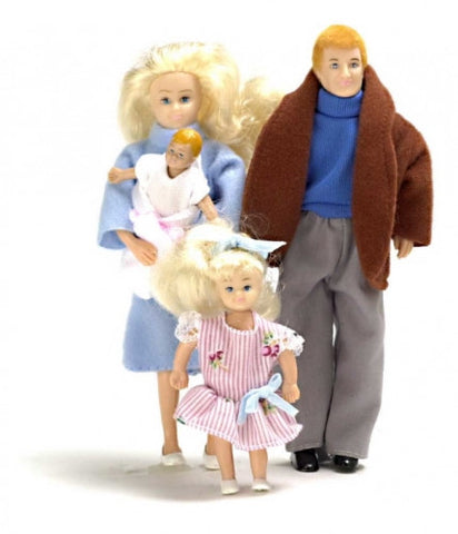 Doll Family Modern 4 PC Blonde