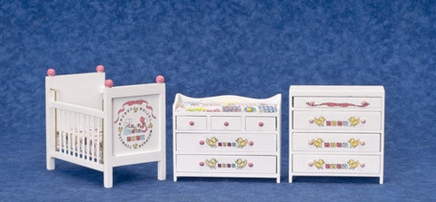 ABC Nursery Set, White