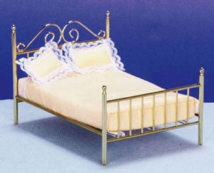 Bed, Brass Double