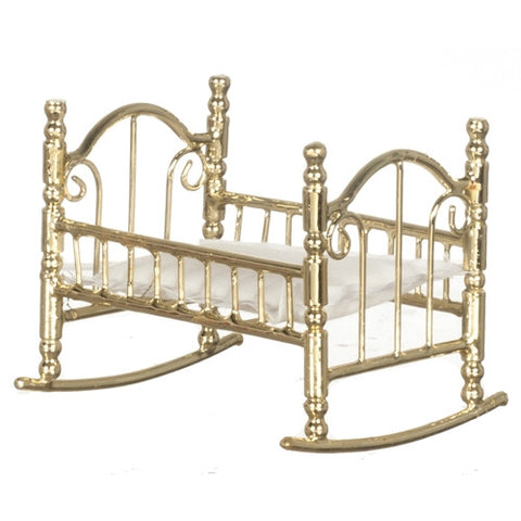 Rocking Cradle, Brass