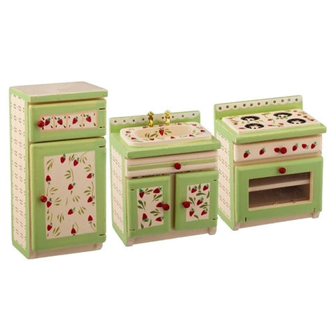 Strawberry Fields Kitchen Set