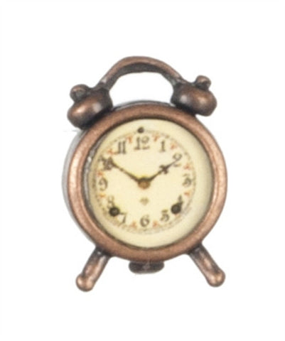 Old Time Alarm Clock, Antique Finish