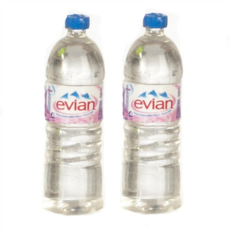 Water Bottles, Pair, Evian Style