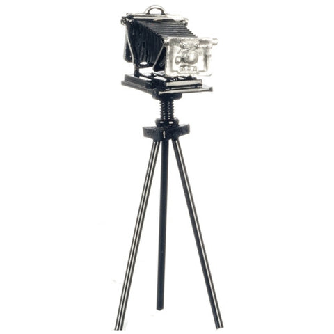 Antique Camera with Tripod