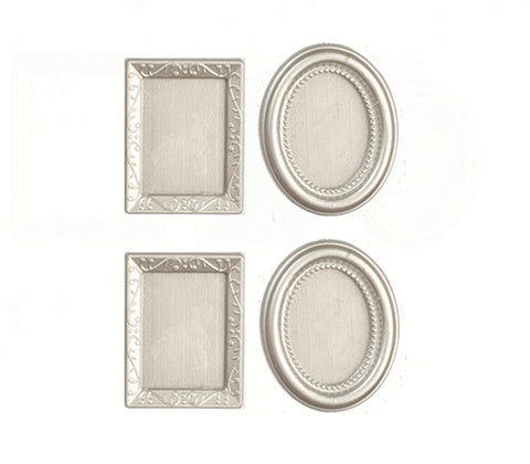 Set of four Sliver Picture Frames
