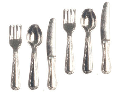 Silverware Set of Six, Revere Pattern