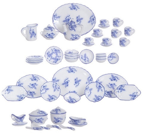 China Service, Blue and White