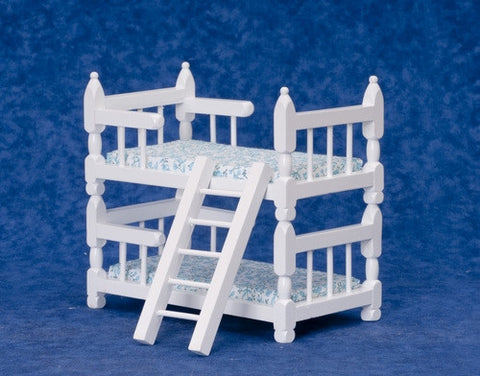 Bunk Bed, Sturdy, White