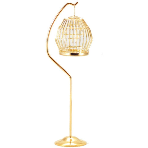 Birdcage, Brass with Stand