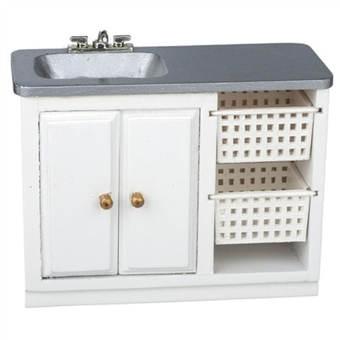 Utility Sink with Baskets