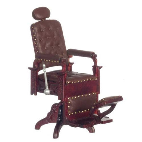 Victorian Barbershop Chair, Mahogany