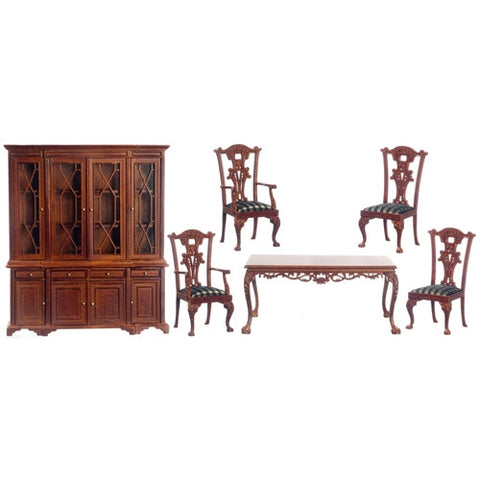 Orleans Dining Set, New Walnut Finish ON SPECIAL